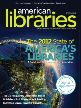 State of America's Libraries
