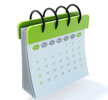 Calendar. deancollege