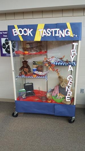 book-tasting-display